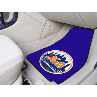 Fanmats New York Mets 2-piece Carpeted Car Mats