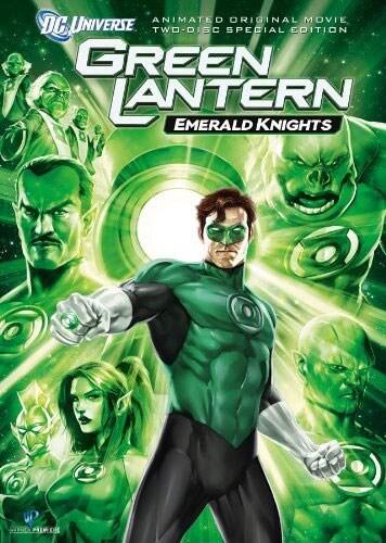 Green Lantern: Emerald Knights - Special Edition (DVD)