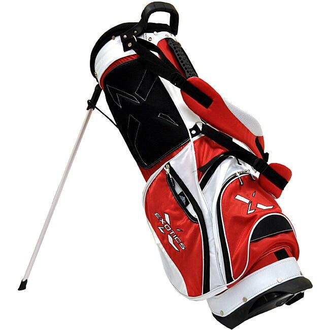 Tour Edge Exotics Xtreme Red/ White Stand Golf Bag