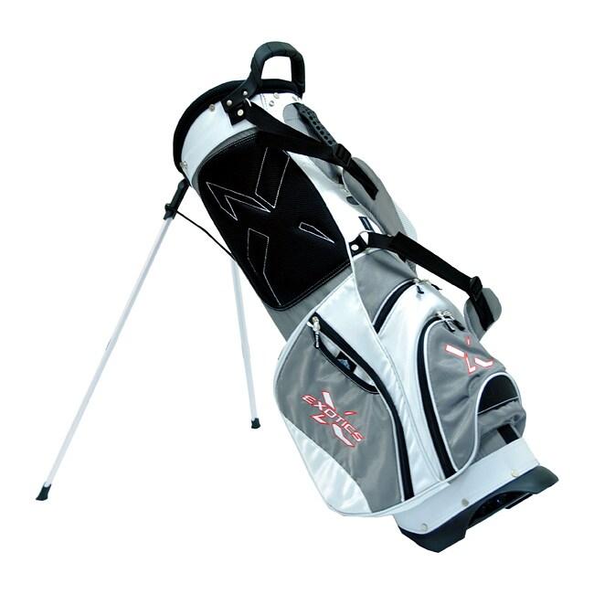 Tour Edge Grey/ White Exotics Xtreme Stand Golf Bag