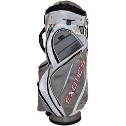 Tour Edge Exotics Xtreme Grey/ White Cart Golf Bag