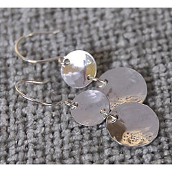 AEB Design Sterling Silver Double Cup Earrings