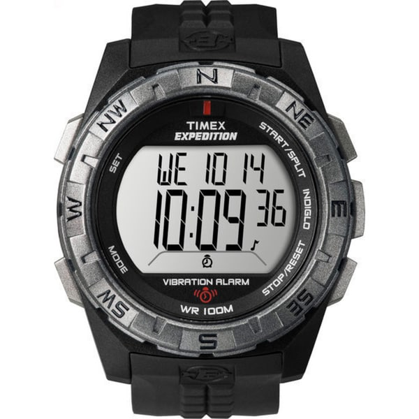 Timex Men's T49851 Expedition Rugged Digital Vibration Alarm Watch 8175453