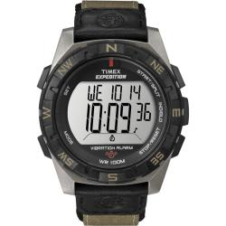 Timex Men's T49854 Expedition Rugged Digital Vibration Alarm Nylon Strap Watch