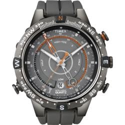 Timex Men's T49860 Intelligent Quartz Adventure Series Tide Temp Compass Watch