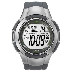Timex Men's T5K238 1440 Sports Digital Sport Grey/Silvertone Watch