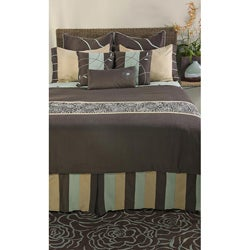 Rizzy Home Snazzy Queen-size 9-piece Duvet Cover Set with Insert
