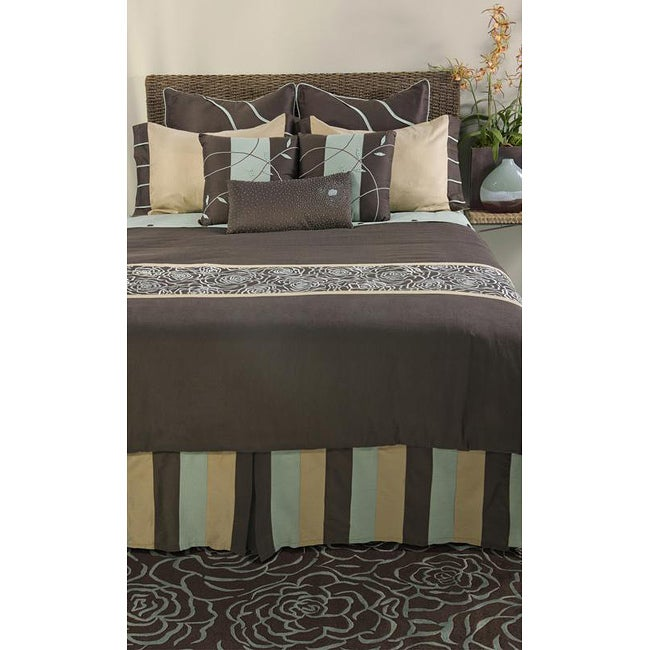 Rizzy Home Snazzy King-size 10-piece Duvet Cover Set with Insert
