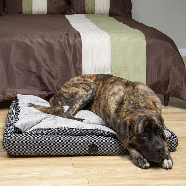 K&H Large Luxury Feather Top Orthopedic Bed