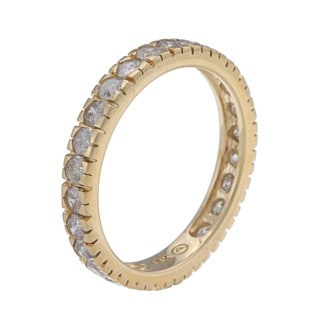 Beverly Hills Charm 14k Yellow Gold 1 1/4ct TDW Diamond Wedding Band (H-I, I2-I3)