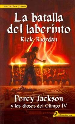 La batalla del laberinto / The Battle of the Labyrinth (Paperback)