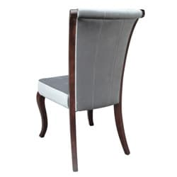 Channel Grey Velvet Chairs (Set of 2)