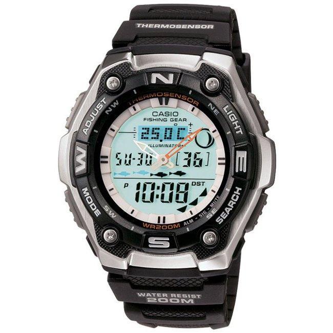 Casio Men's Fishing Gear Digital Watch