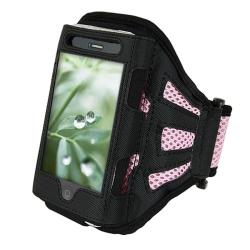 2-piece Armband/ MYBAT Case for Apple iPhone 4