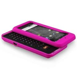 4-piece Colored Silicone Cases for Motorola A855 Droid