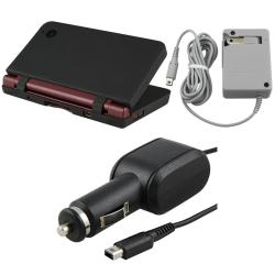 3-piece Case/ Car and Travel Charger for Nintendo DSi LL/ XL