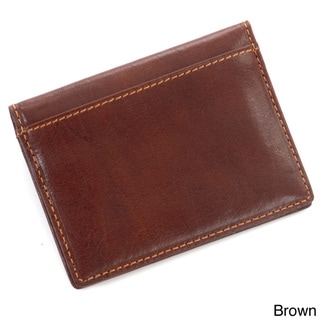 Tony Perotti Italian Leather Ultimo ID Window Weekend Travel Wallet