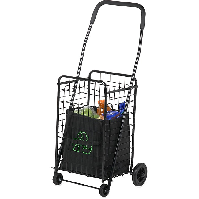 Honey Can Do CRT-01511 Black Rolling Utility Cart