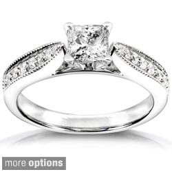 Annello 14k Gold 5/8ct TDW Diamond Engagement Ring (H-I, I1-I2)
