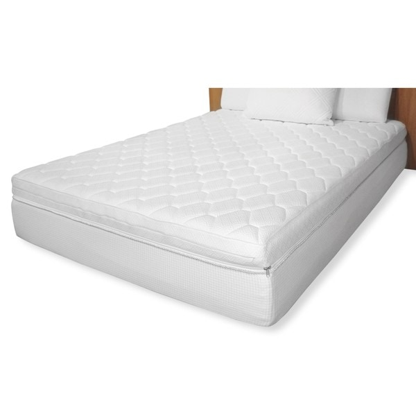 Reversible pillow top 12 inch twin size memory foam Twin mattress size