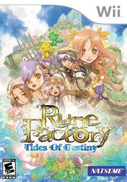 Wii - Rune Factory: Tides of Destiny - By Natsume