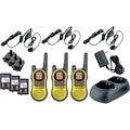 Motorola Talkabout MH230TPR Two-way Radios (Pack of 3)
