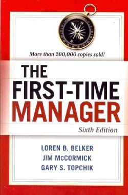 The First-Time Manager (Paperback)