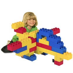 Kids Adventure 48-piece Building Construction Learner Blocks Set