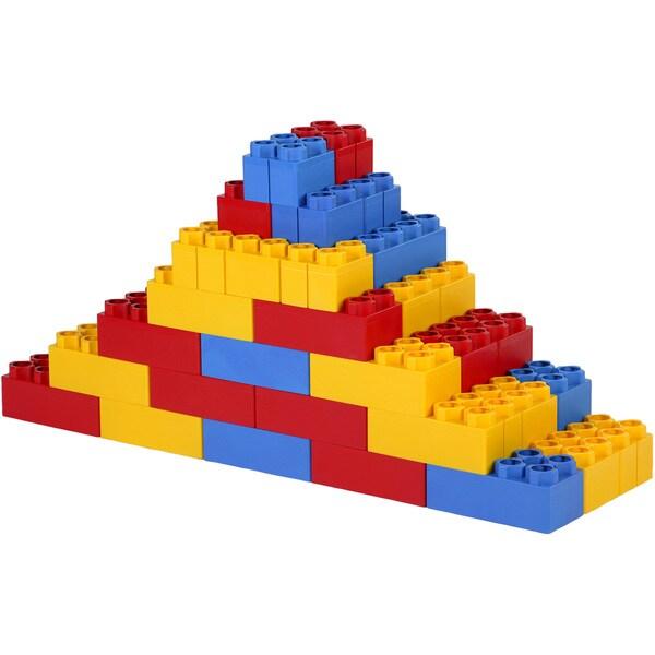 Kids Adventure 48-piece Building Construction Learner Blocks Set