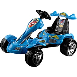 Lil' Rider Blue Ice Battery Operated Go-kart Ride-on