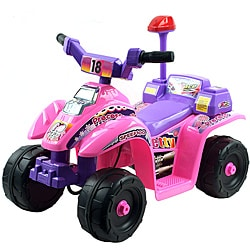 Lil' Rider Pink/ Purple Princess 4-wheel Mini ATV Ride-on