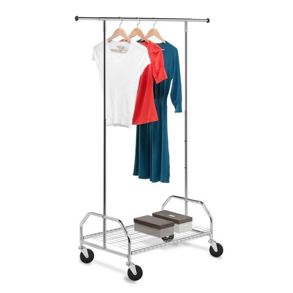 Honey Can Do GAR-01506 Rolling Garment Rack