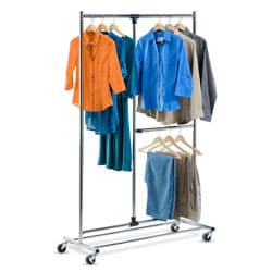 Honey Can Do GAR-01702 2-tier Garment Rack