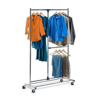 Honey Can Do GAR-01702 2-tier Garment Rack