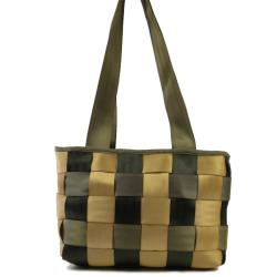 Checkered Porsche Seatbelt Tote Handbag (India)