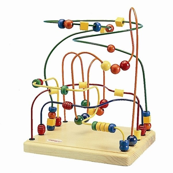 Anatex Activities Center Mini Rollercoaster Toy