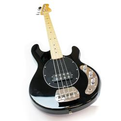SVP Dr. Tech MEB-001 4-string Black Electric Bass Guitar