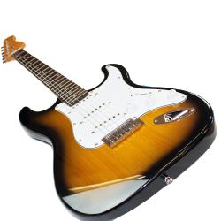 SVP Dr. Tech MEB-001 3-color Sunburst Electric Guitar