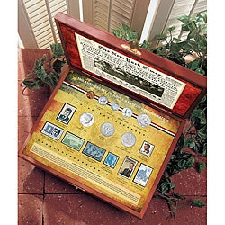 American Coin Treasures JFK's 50th Aniversary Inauguration Coin and Stamp Collection