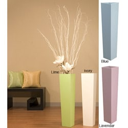 27-inch Tapered Floor Vase