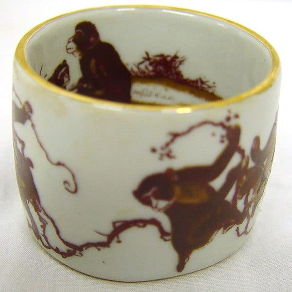 Chinggoi Porcelain Napkin Rings (Set of 4)