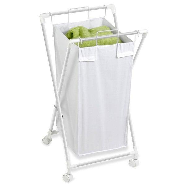 Honey Can Do HMP-01385 Single Folding Hamper with Removable Bag