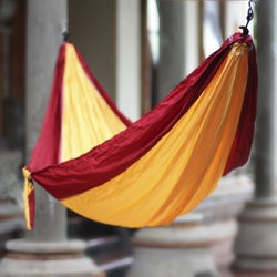 Parachute 'Orange Sorbet' Hammock (Indonesia)