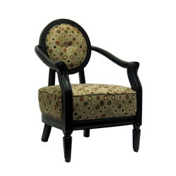 Polka Poka Dot Accent Chair