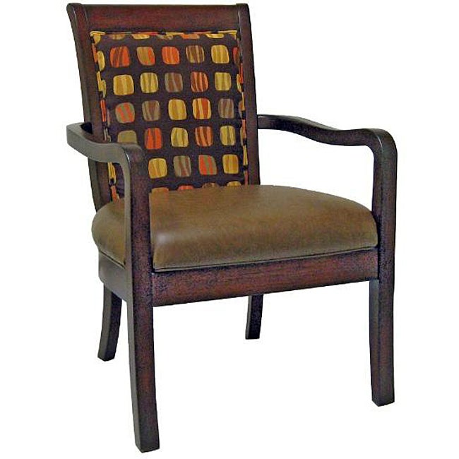 Winston Two-toned Accent Chair