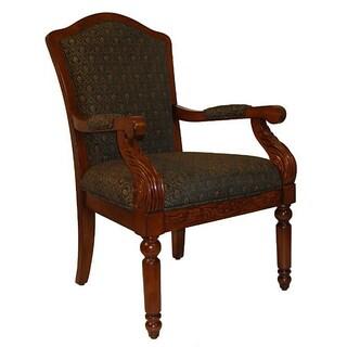 Lola Medium Green Accent Chair