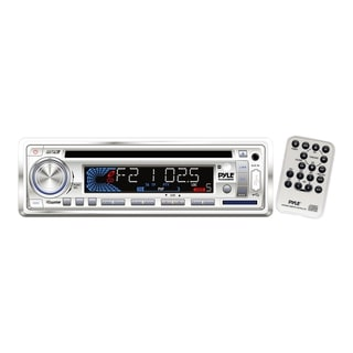 Pyle PLCD36MRW Marine CD/MP3 Player - 200 W RMS - Single DIN