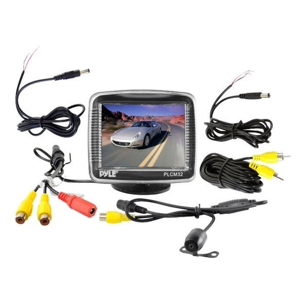 "Pyle PLCM32 3.5"" Active Matrix TFT LCD Car Display"