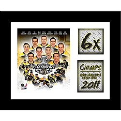 2011 Stanley Cup Champion Boston Bruins Frame