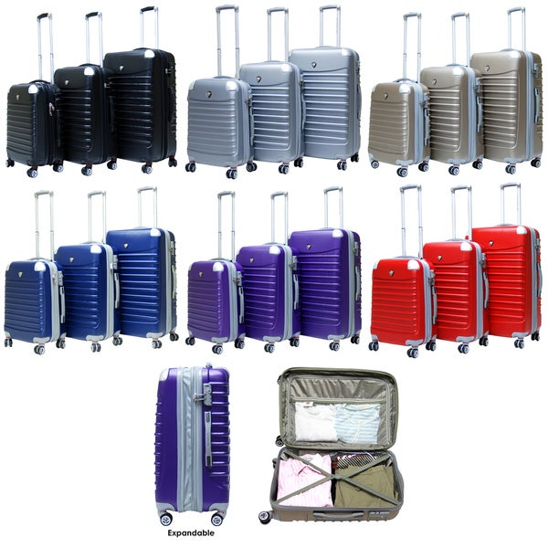 CalPak Sonic II 3-piece Expandable Hardside Spinner Luggage Set